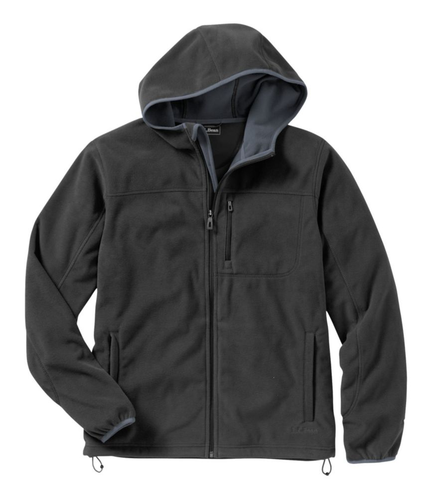 photo: L.L.Bean Men's Wind Challenger Fleece, Hooded Jacket fleece jacket