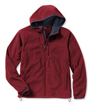 Men's Wind Challenger Fleece, Hooded Jacket