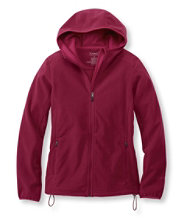 Women's Wind Challenger Fleece, Hooded Jacket