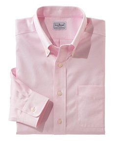 Men's Wrinkle-Free Pinpoint Oxford Cloth Shirt, Traditional Fit
