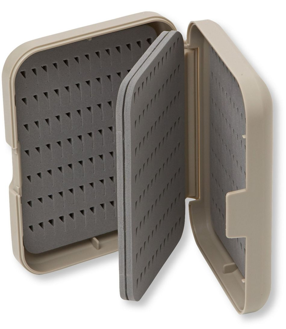 Easy-Grip Fly Box With Foam Inserts