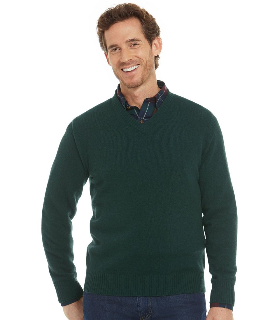 Cashmere Sweater, V-Neck