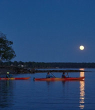 Maine Full-Moon Kayak Tour