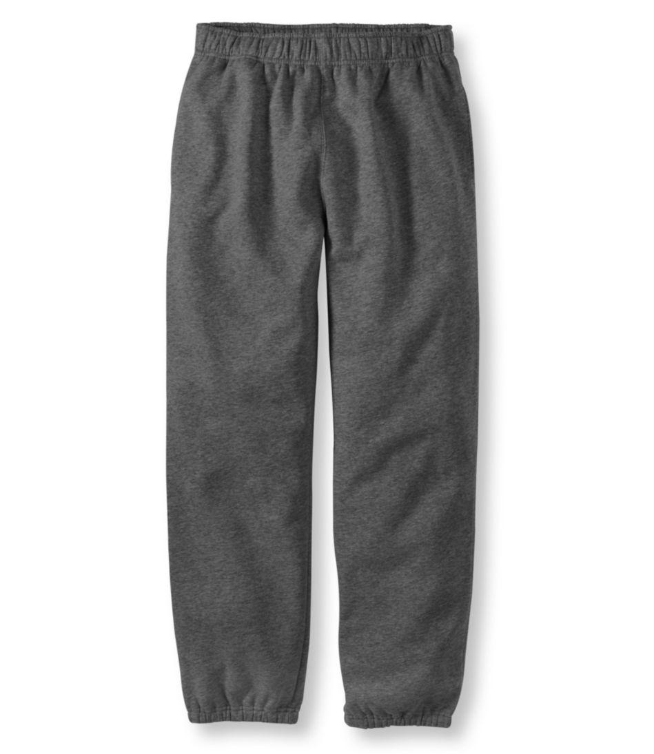 Athletic Sweats, Plain-Front Pants