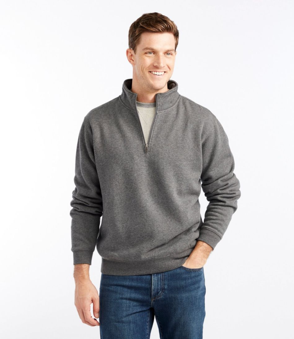 Athletic Sweats, Traditional Fit Quarter-Zip