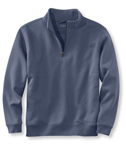 Men's Athletic Sweats, Traditional Fit Quarter-Zip
