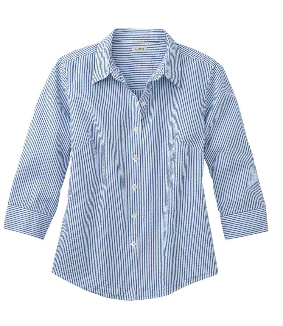 Women's Essential Seersucker Shirt