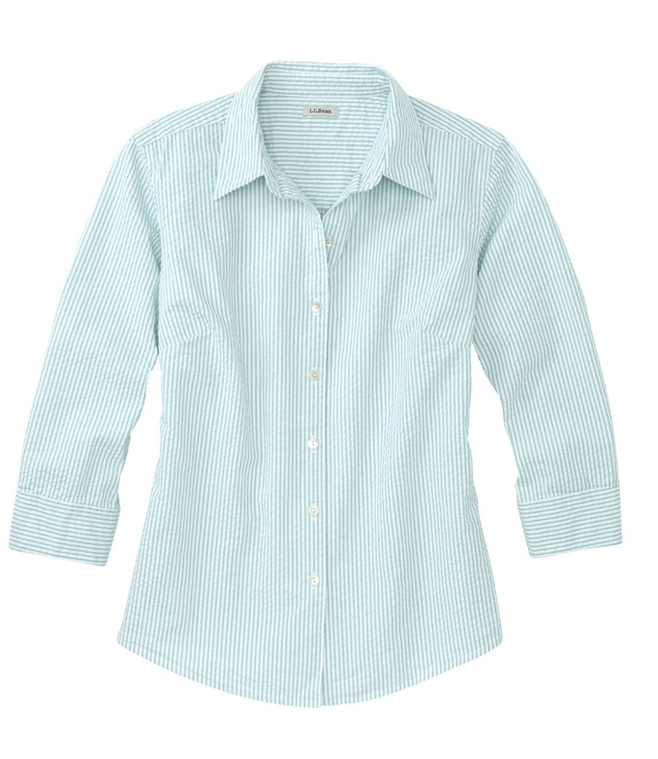 bf99592d14f02 Women's Essential Seersucker Shirt