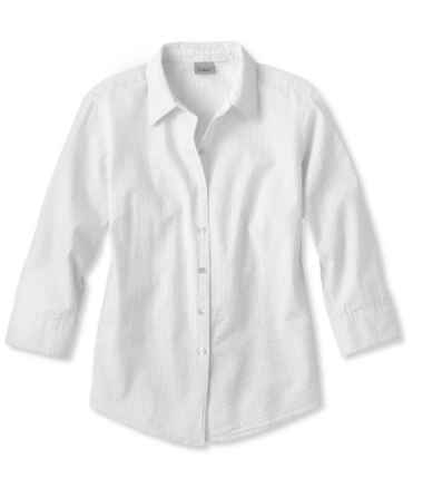 Women's Essential Seersucker Shirt