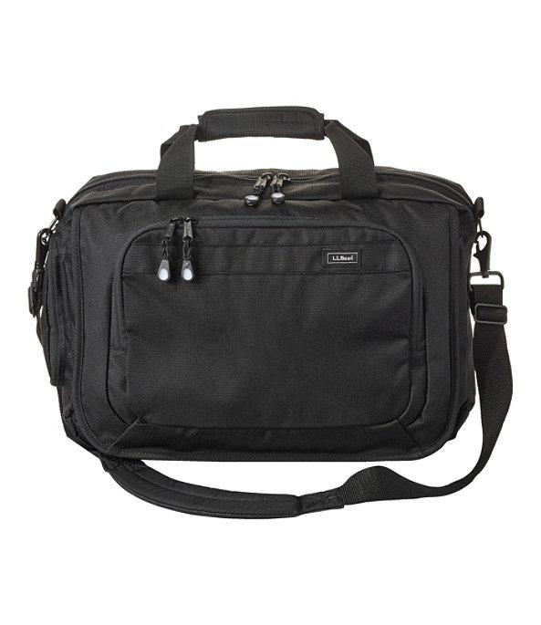 Carryall Briefcase, Black, large image number 0