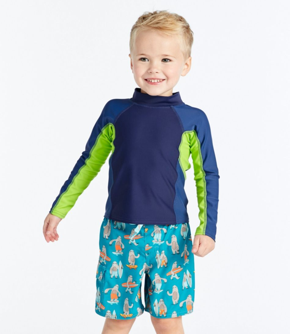 Infants' and Toddlers' BeanSport Surf Shirt, Long-Sleeve