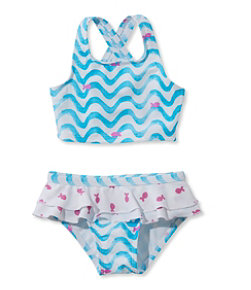 Infant and Toddler Girls' Sea Spray Swimsuit, Two-Piece