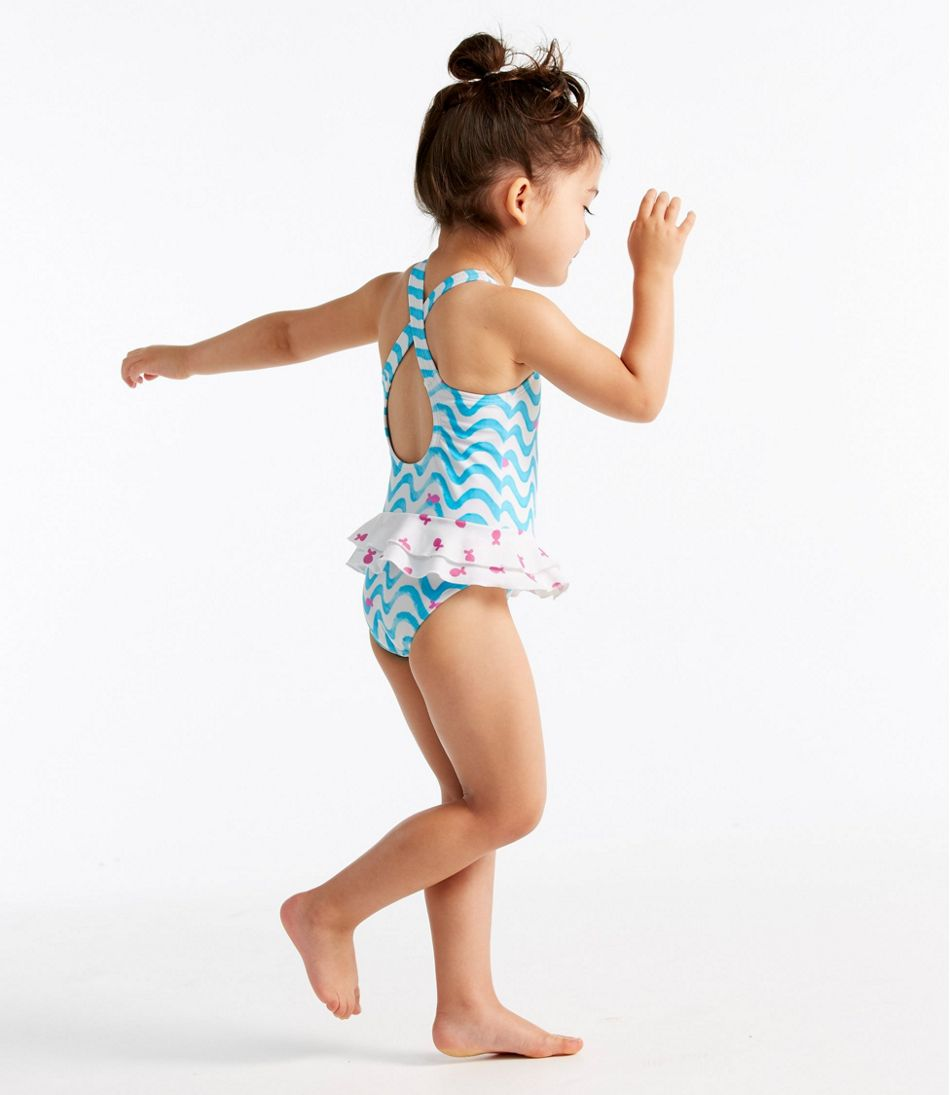 06c420031 Infant and Toddler Girls' Sea Spray Swimsuit, One-Piece
