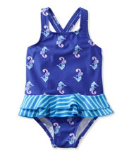 Toddler Girls' Sea Spray Swimsuit, One-Piece