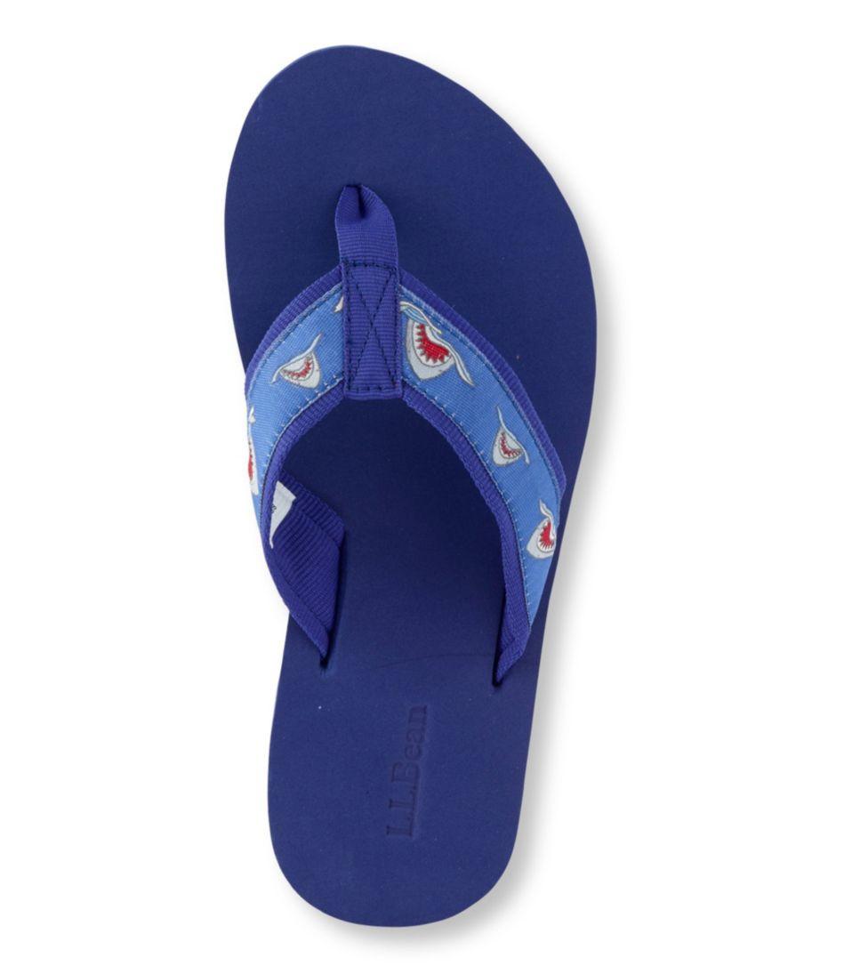 Kids' Maine Isle Flip-Flops, Motif