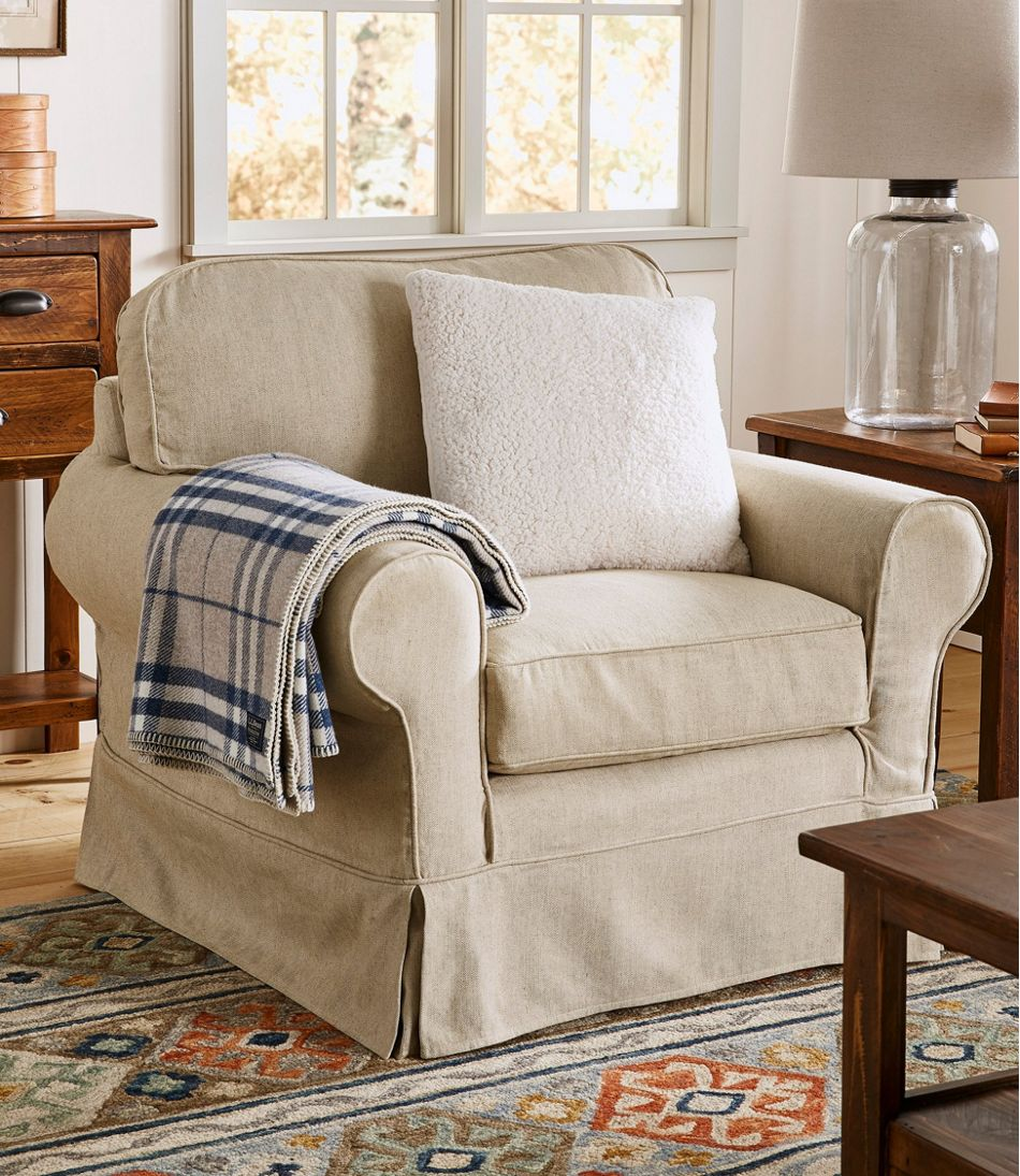 Pine Point Slipcovered Chair