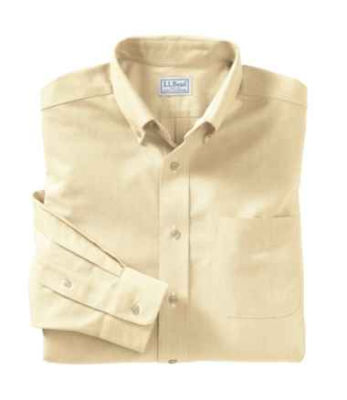Men's Wrinkle-Free Classic Oxford Cloth Shirt, Slightly Fitted