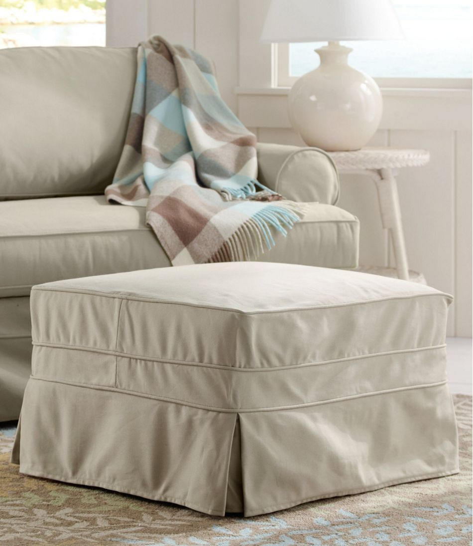 Pine Point Ottoman and Slipcover