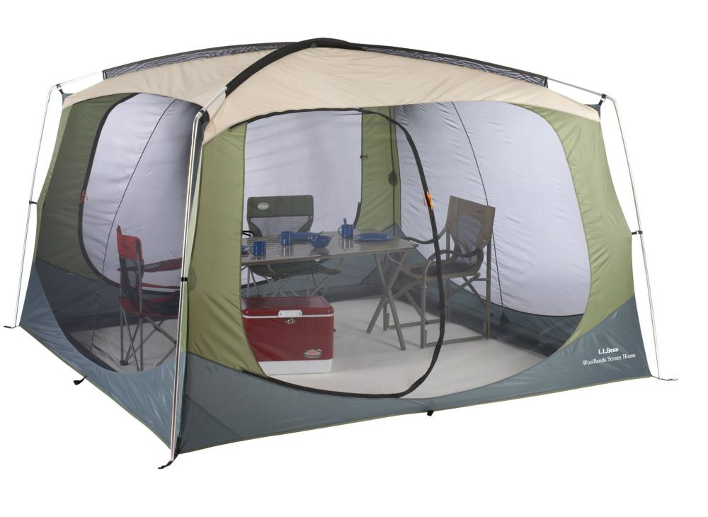 photo: L.L.Bean Woodlands Screen House tarp/shelter
