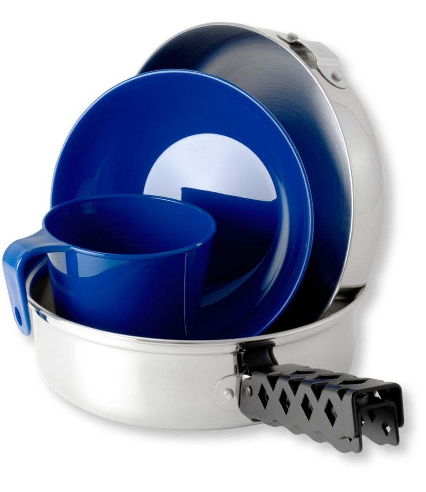 photo: GSI Outdoors Glacier Stainless Steel Mess Kit pot/pan
