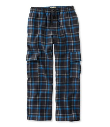Boys' Flannel Cargo Pants
