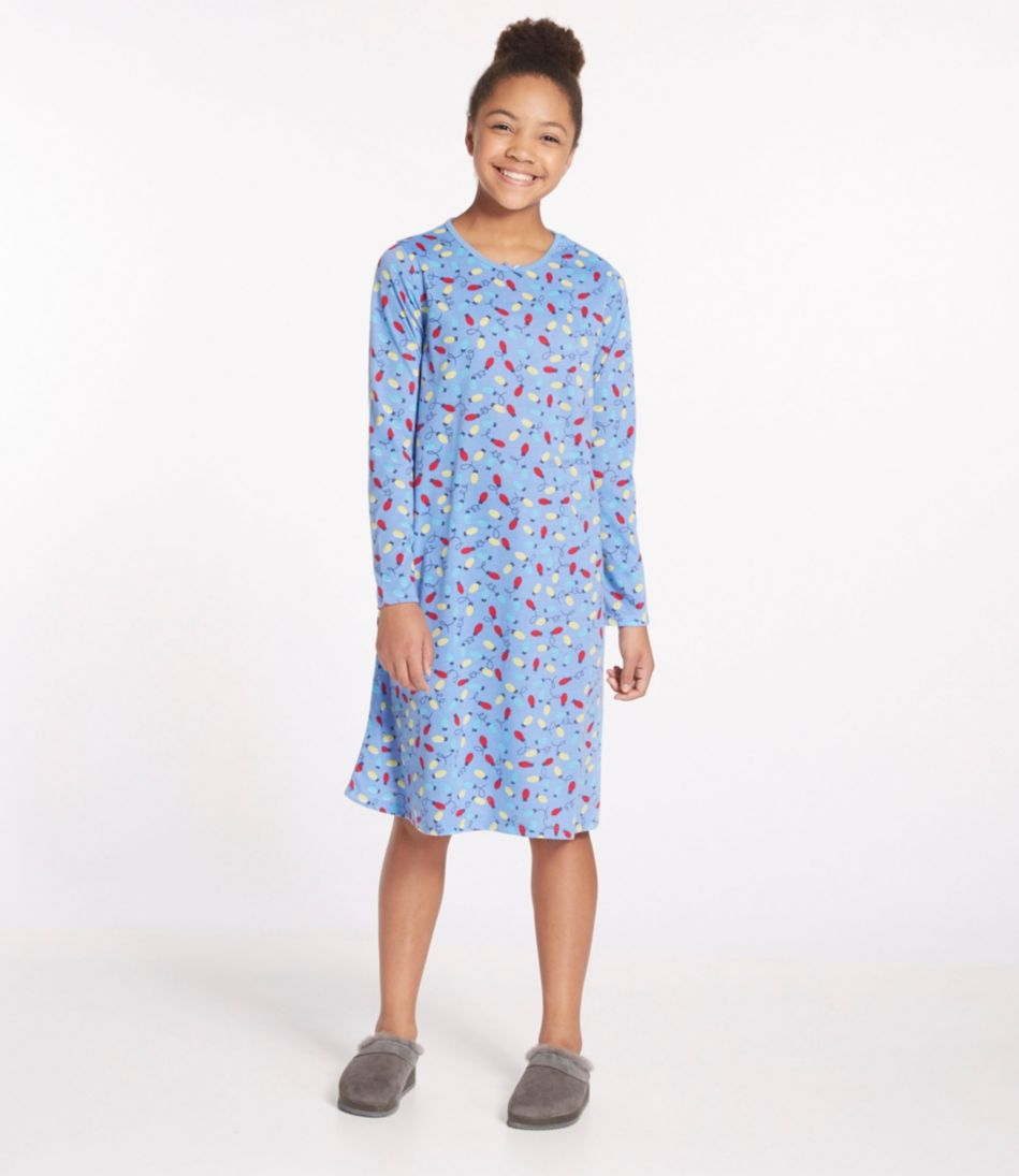 Girls' Jersey-Knit Nightgown