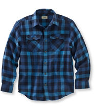 Boys' L.L.Bean Flannel Shirt, Plaid
