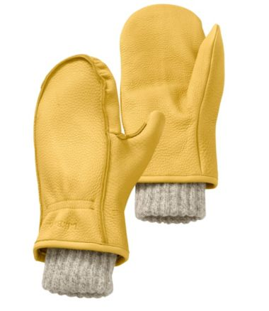 Buckskin Chopper Mitts