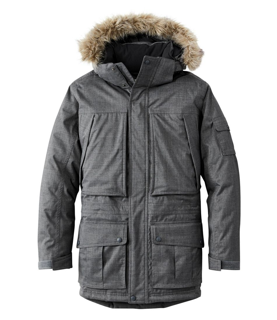 Mens Parka Without Fur