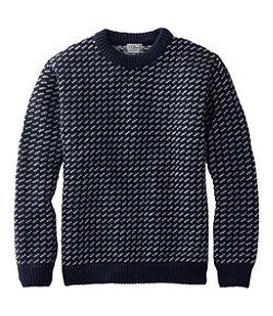 Men's Heritage Sweater, Norwegian Crewneck