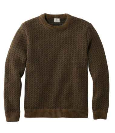 Men's Heritage Sweater, Norwegian Crewneck