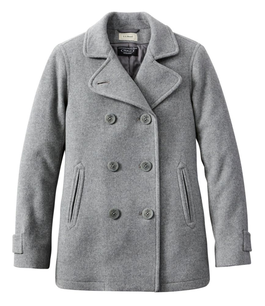 photo: L.L.Bean Classic Lambswool Peacoat wool jacket