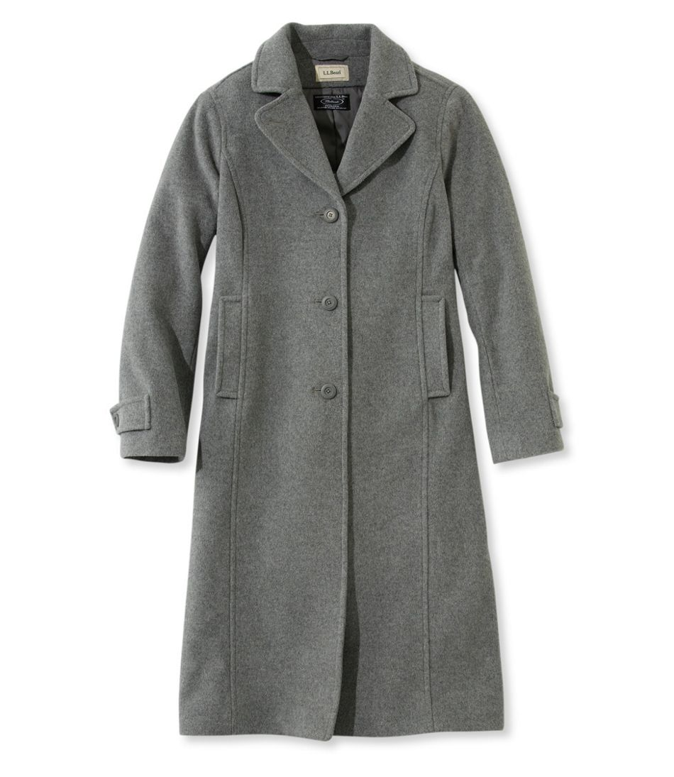 Classic Lambswool Polo Coat, Long