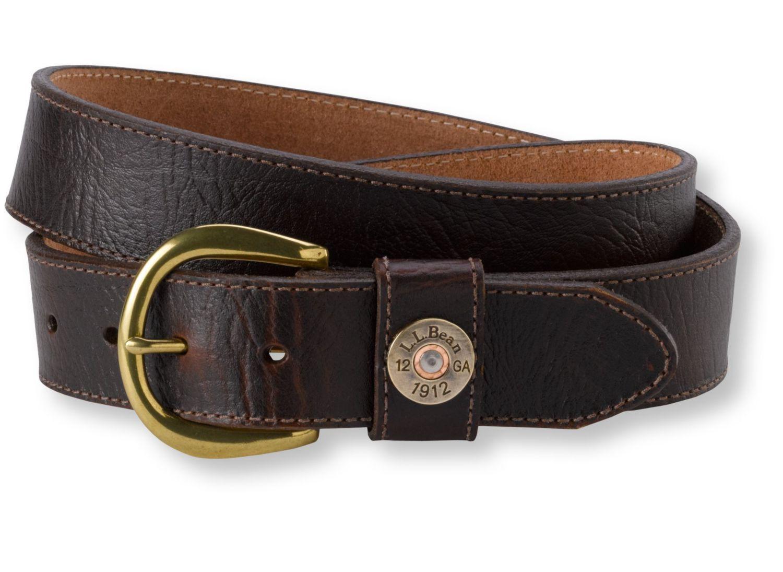 Men's Shotshell Logo Belt