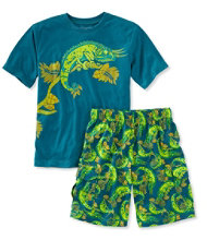 Boys' Jersey-Knit PJs, Shorts