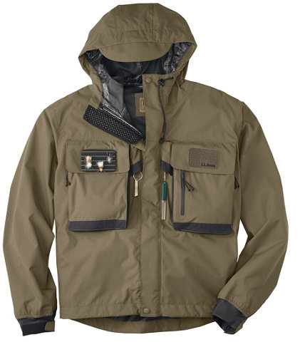 Men 39 s emerger ii wading jacket for Mens fishing rain gear