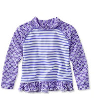 Infant and Toddler Girls' Sea Spray Ruffle Surf Shirt