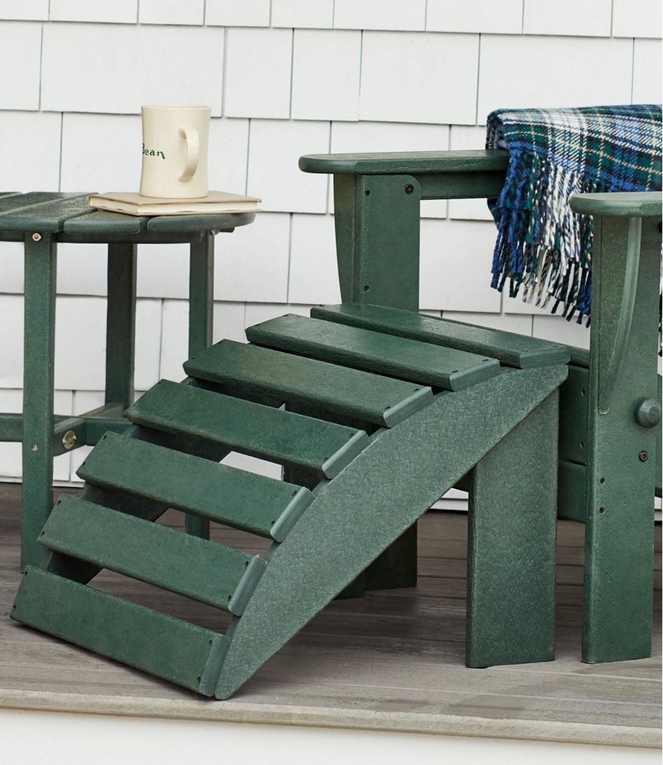 All-Weather Adirondack Footstool