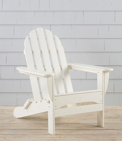 All Weather Adirondack Chair L L Bean