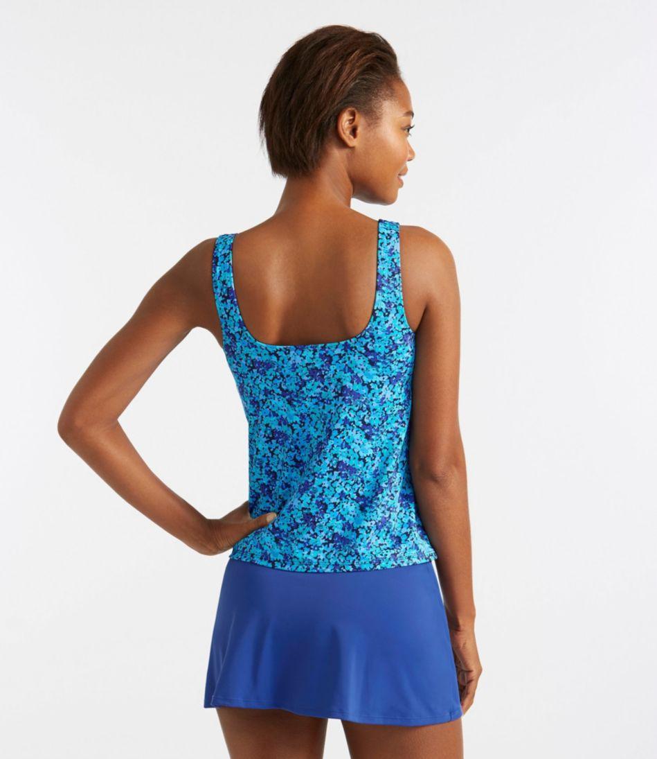 BeanSport® Swimwear, Tankini Top Scoopneck Floral Print