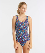 BeanSport Swimwear, Tanksuit with Soft Cups Floral Print