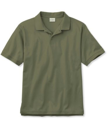 Pima Cotton Polo, Traditional Fit Banded Sleeve