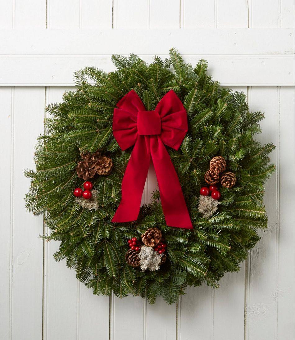 traditional balsam wreath traditional balsam wreath