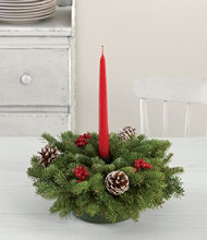 Traditional Balsam Centerpiece, Small