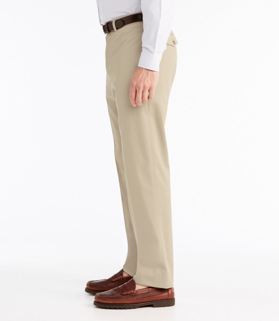 Wrinkle-Free Dress Chinos, Classic Fit Plain Front