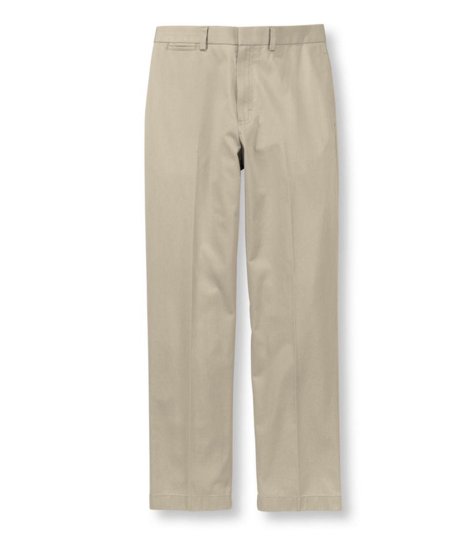 Wrinkle-Free Dress Chinos, Natural Fit Plain Front