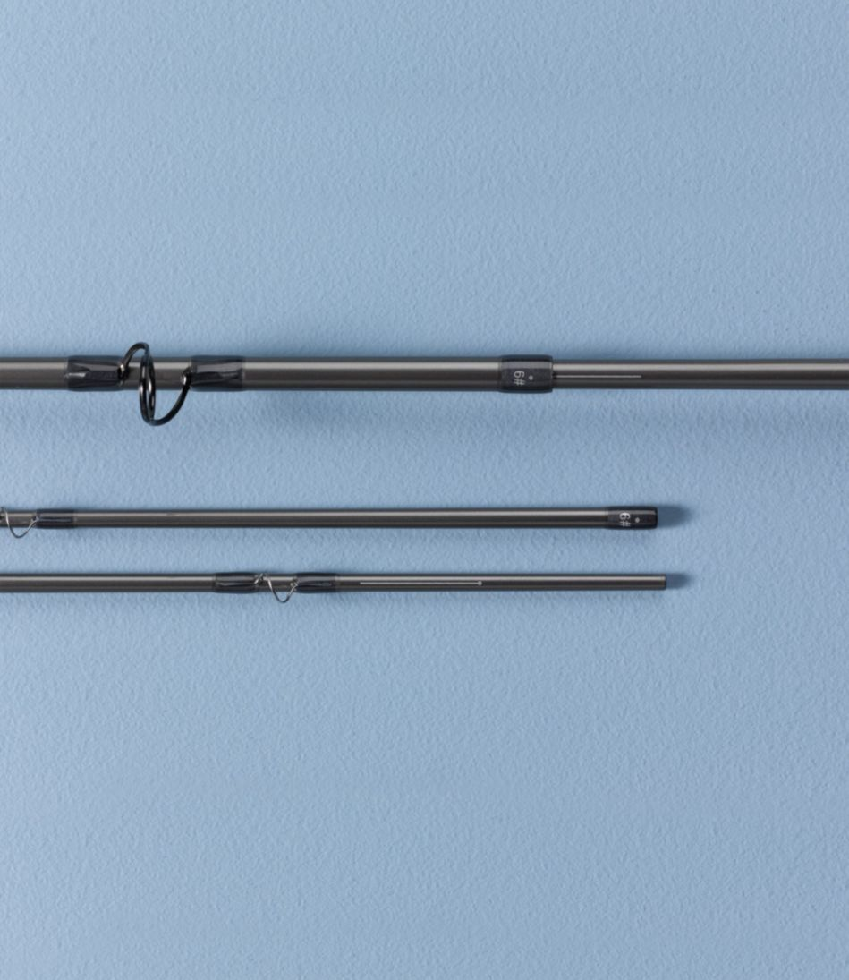 Silver Ghost Four-Piece Fly Rod Outfit, Saltwater