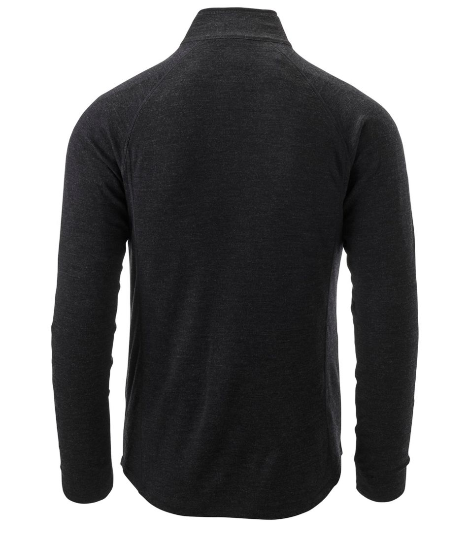 Men's Cresta Wool Midweight 250 Base Layer, Quarter-Zip