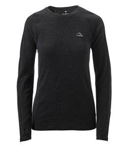 Women's Cresta Wool Midweight 250 Base Layer, Crew