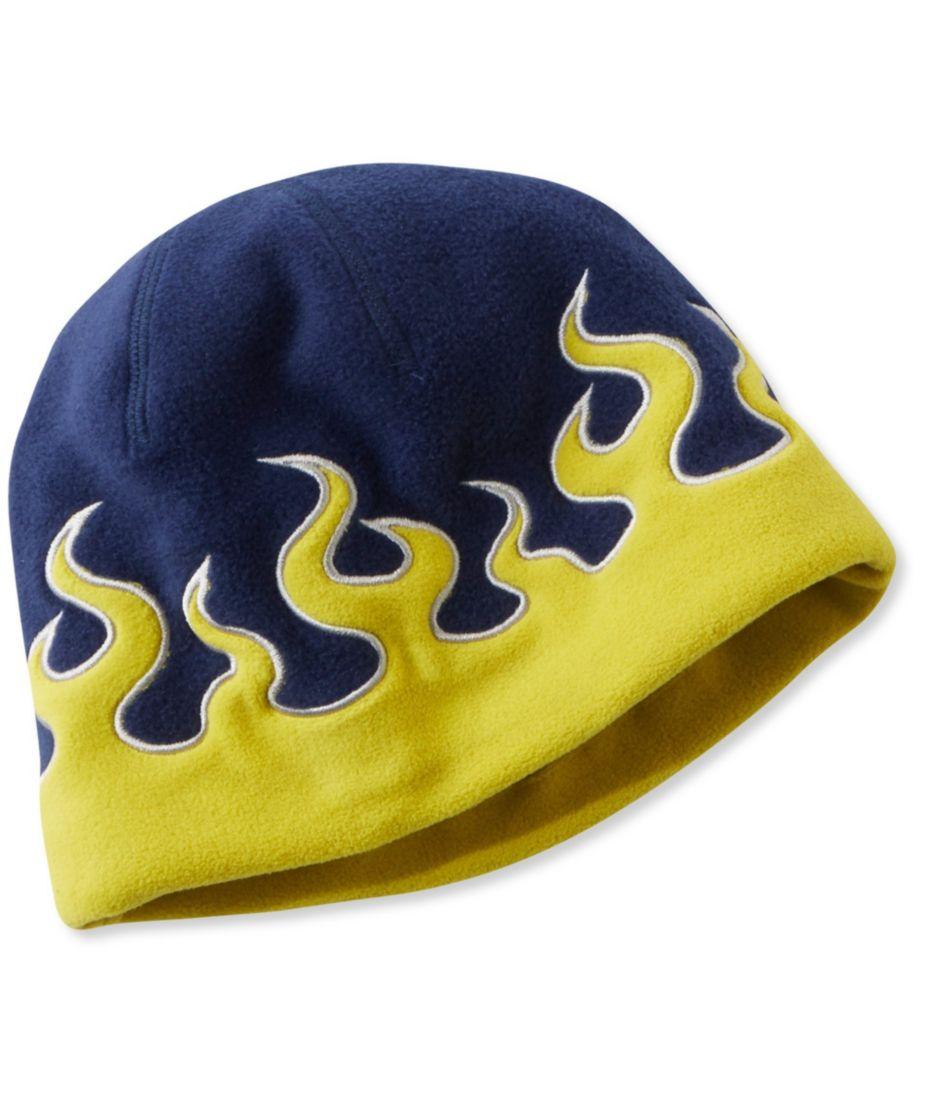 Kids' Fleece Flame Hat